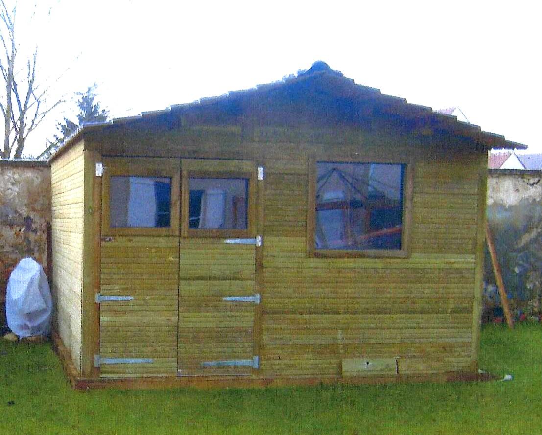 construction abri et chalet de jardin sur mesure dans l 39 oise. Black Bedroom Furniture Sets. Home Design Ideas