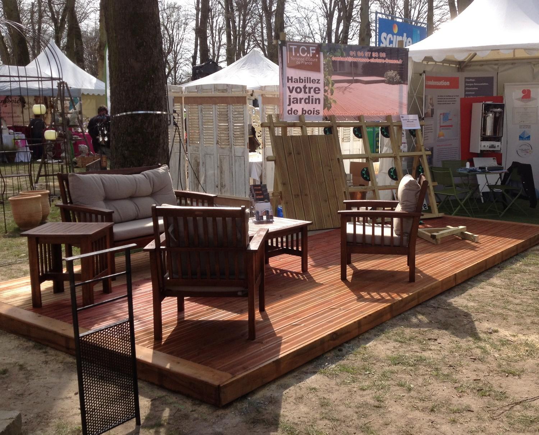 notre participation au salon du jardin de senlis oise 60. Black Bedroom Furniture Sets. Home Design Ideas