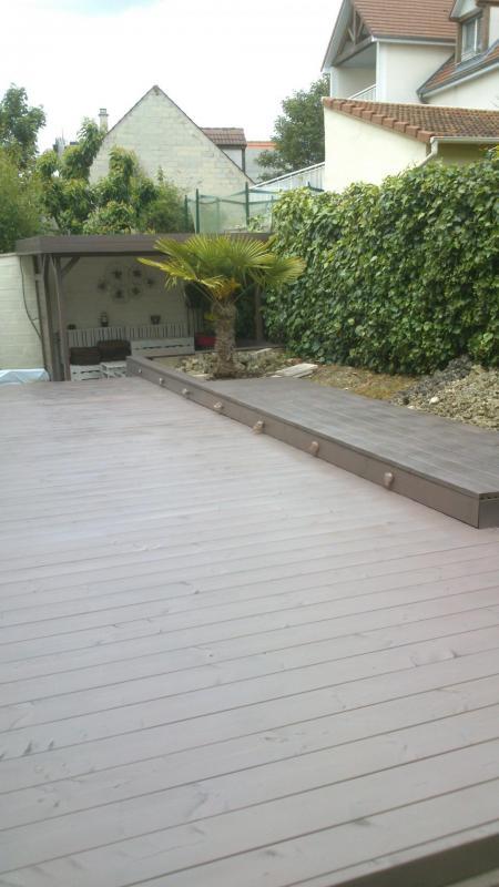 Terrasse en bois for Abri jardin traite autoclave classe 4