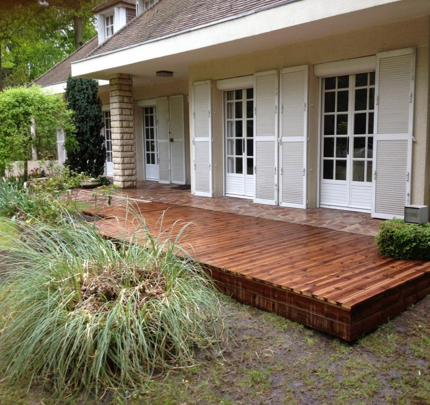 Terrasse en bois dans lOise 60 spécialiste de la terrasse