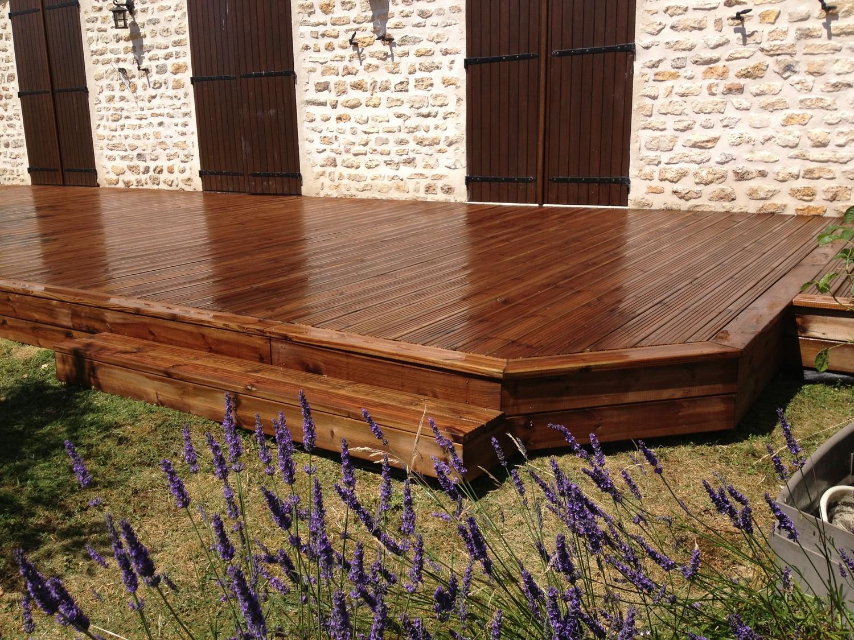 Terrasse en bois dans l 39 oise 60 sp cialiste de la terrasse for Terrasse english