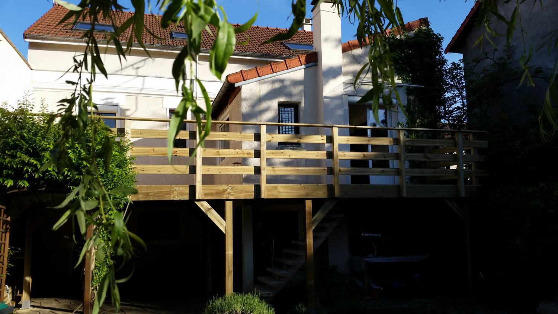 terrasse bois oise