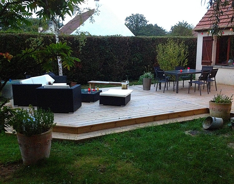 Terrasse bois dans lOise (60) nos réalisations