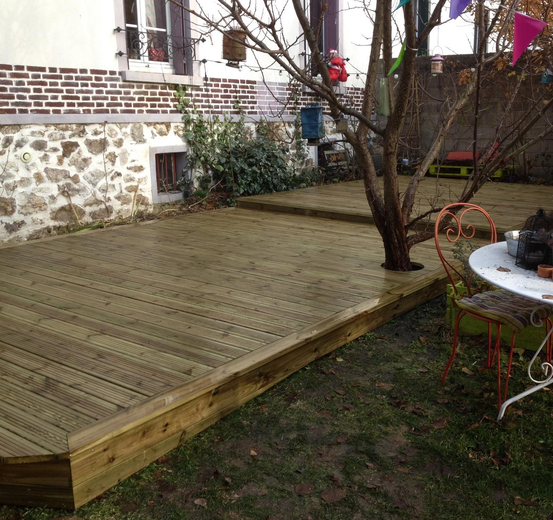 Traitement Terrasse Pin Autoclave terrasse en bois dans l'oise 60: spécialiste de la terrasse